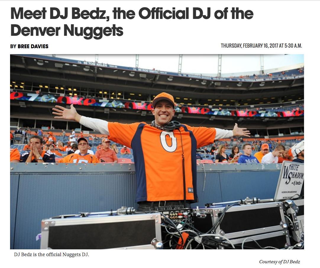NEWS: Meet DJ Bedz, The Official DJ Of The Denver Nuggets